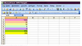 excel template